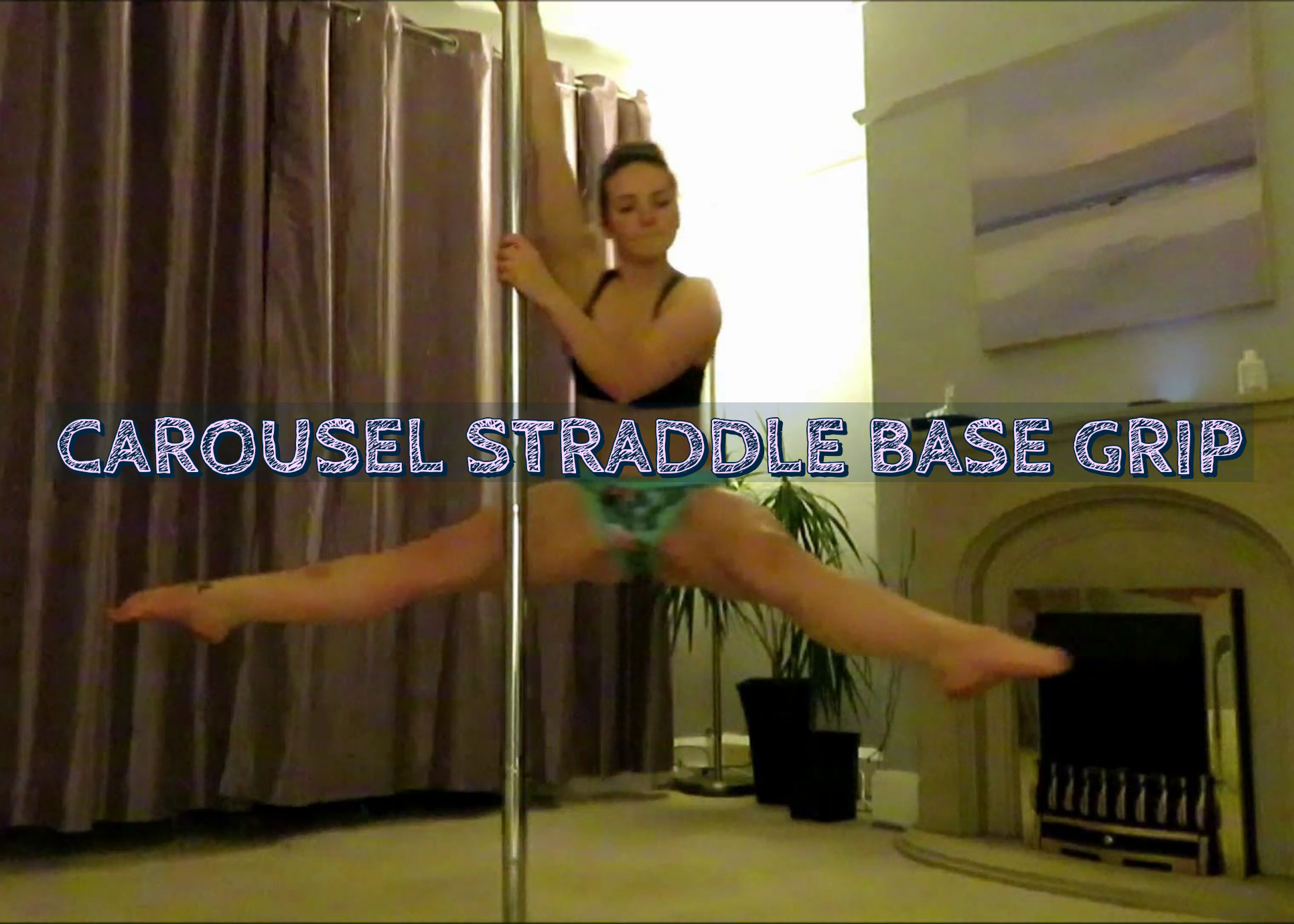 carousel straddle base grip