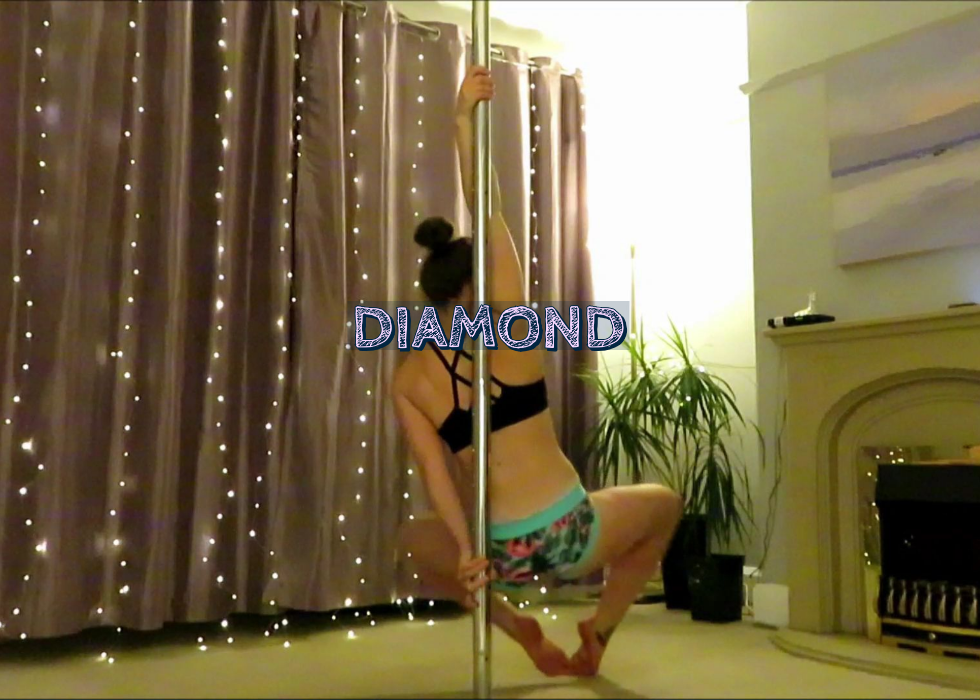diamond spin pole dance